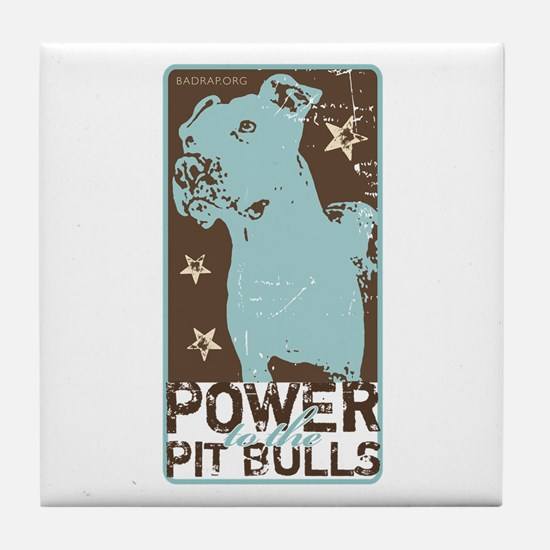 Pit Power Tile Coaster