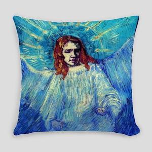 "Vincent van Gogh ""Half-figure Everyday Pillow"