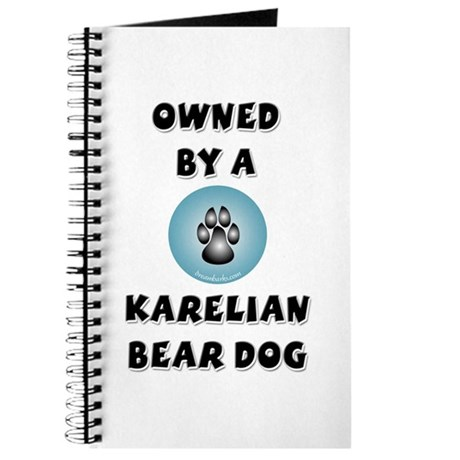 Owned by a Karelian Bear Dog Journal
