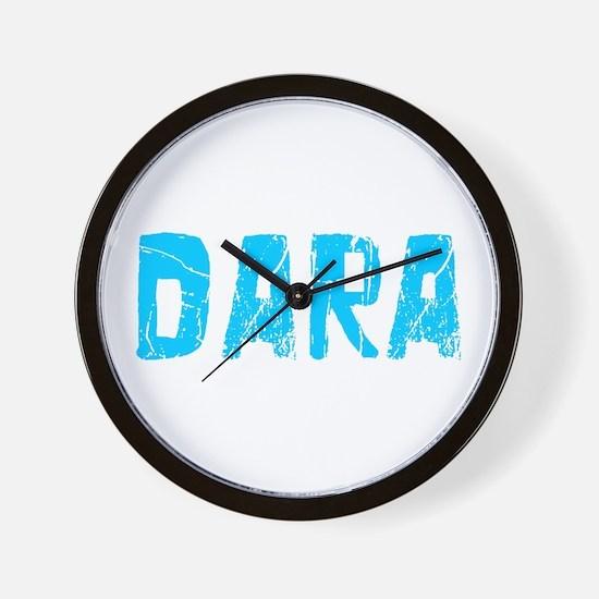 Dara Faded (Blue) Wall Clock