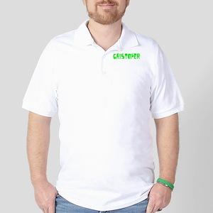 Cristofer Faded (Green) Golf Shirt