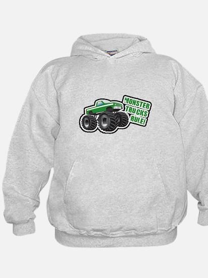 Green Monster Truck Hoodie