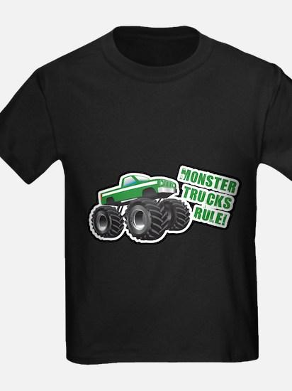 Green Monster Truck T