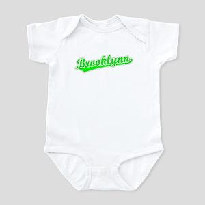 Retro Brooklynn (Green) Infant Bodysuit