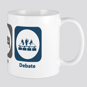 Eat Sleep Debate Mug