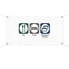 Eat Sleep Database Design Banner