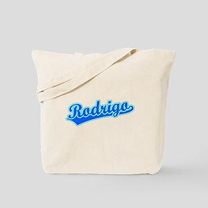 Retro Rodrigo (Blue) Tote Bag