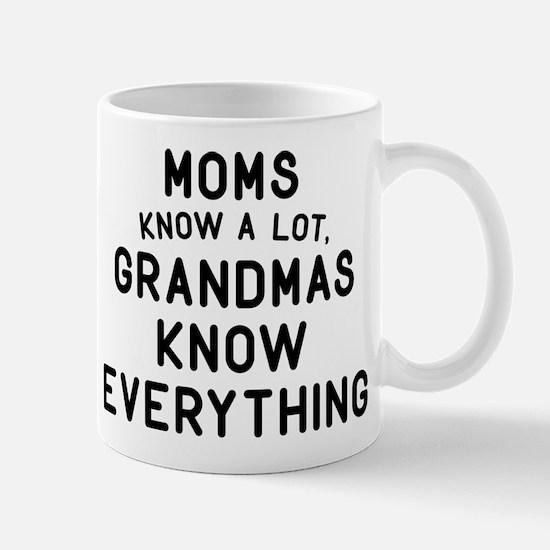 Grandmas Know Everything Mug