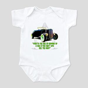 Rod Knocker saying Infant Bodysuit