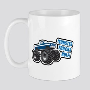 Blue Monster Truck Mug