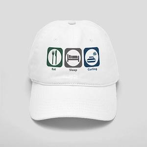 Eat Sleep Curling Cap