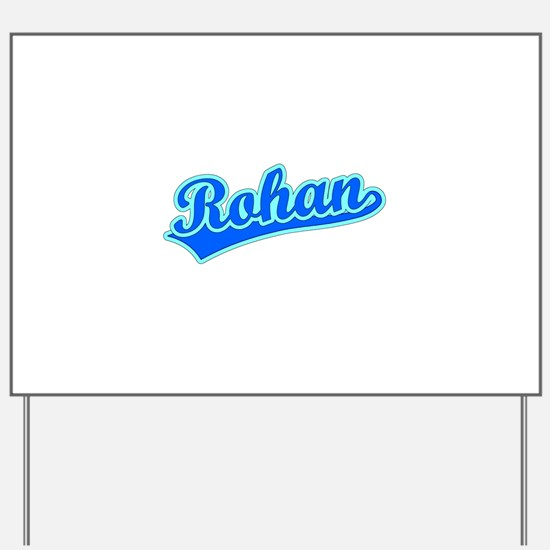 Retro Rohan (Blue) Yard Sign
