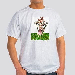 Iris Fairy Ash Grey T-Shirt