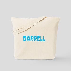 Darrell Faded (Blue) Tote Bag