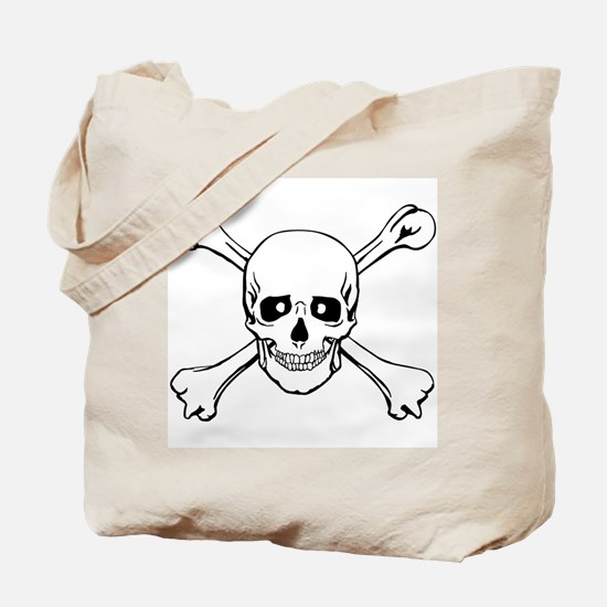Skull & Crossbones Tote Bag