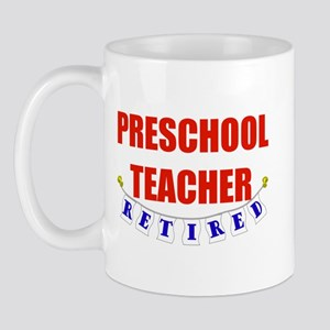 Retired Preschool Teacher Mug