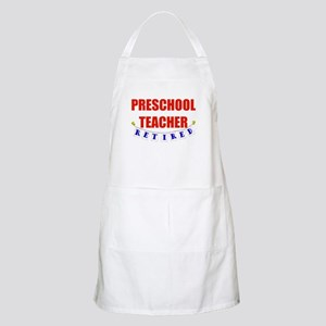 Retired Preschool Teacher BBQ Apron