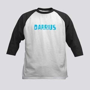 Darrius Faded (Blue) Kids Baseball Jersey