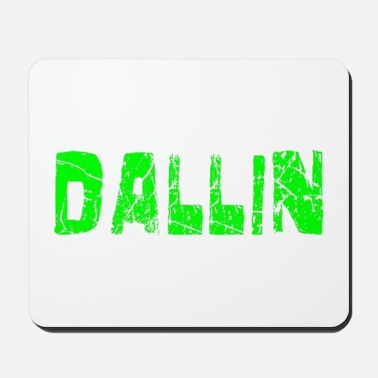 Dallin Faded (Green) Mousepad
