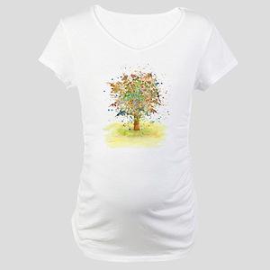 Landscape 466 Tree Maternity T-Shirt