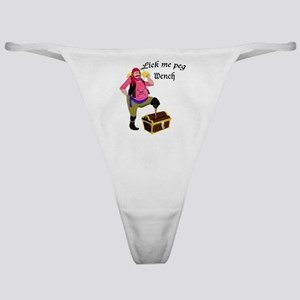 Lick Me Peg Wench Classic Thong
