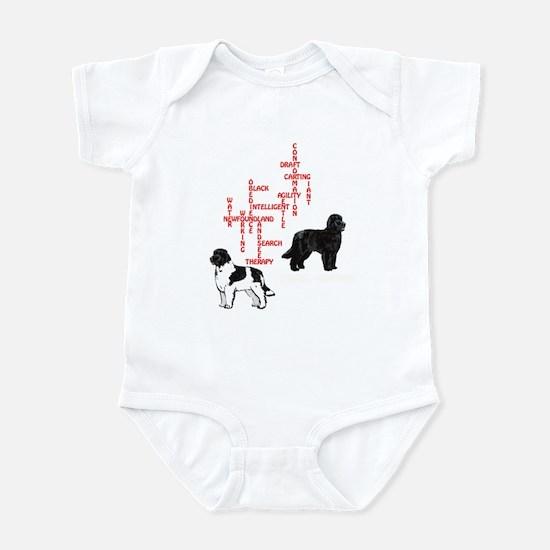newfoundland crossword Infant Bodysuit