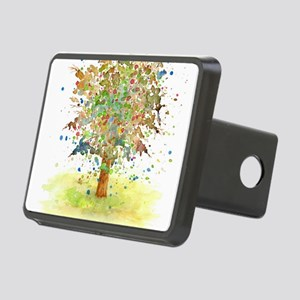 Landscape 466 Tree Rectangular Hitch Cover
