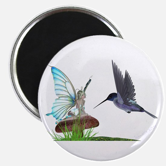 Hummingbird and Fairy Magnet