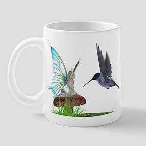 Hummingbird and Fairy Mug