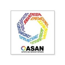ASAN Typography Square Sticker 3
