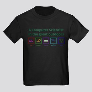 A computer scientist in the great outdoors T-Shirt