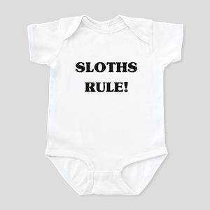 Sloths Rule Infant Bodysuit