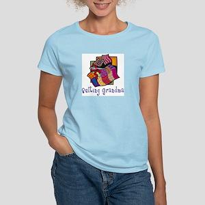 Quilting Grandmother Women's Light T-Shirt
