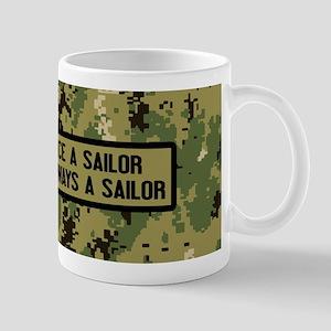 U.S. Navy: Once a Soldier (Camo) 11 oz Ceramic Mug