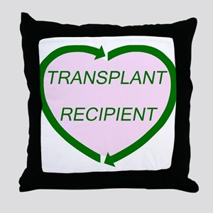 Transplant Recipient Throw Pillow