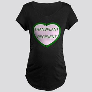 Transplant Recipient Maternity Dark T-Shirt