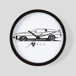 Mustang Mach1 Wall Clock