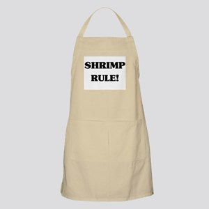Shrimp Rule BBQ Apron