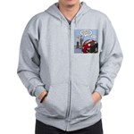 Smart Car Job Zip Hoodie
