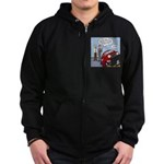 Smart Car Job Zip Hoodie (dark)