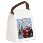 Smart Car Job Canvas Lunch Bag