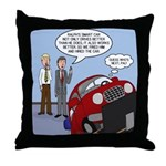 Smart Car Job Throw Pillow