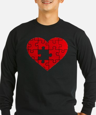 missing puzzle piece heart T