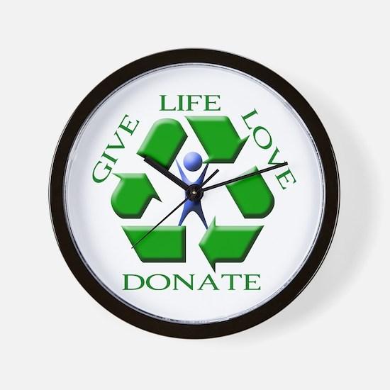 Give Life Wall Clock