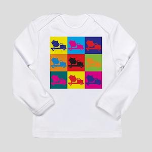 Concrete Pop Art Long Sleeve T-Shirt