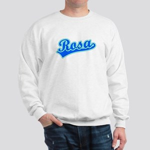 Retro Rosa (Blue) Sweatshirt