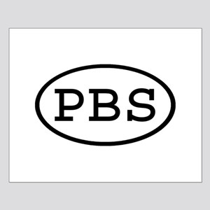 PBS Oval Small Poster