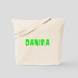 Danika Faded (Green) Tote Bag