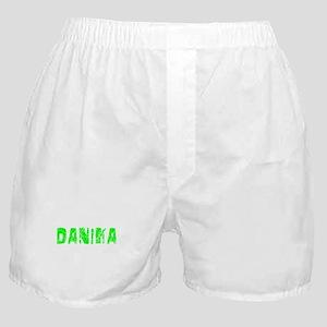 Danika Faded (Green) Boxer Shorts