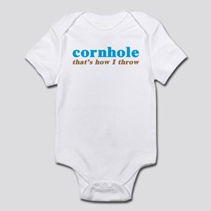 Cornhole Throw Infant Bodysuit